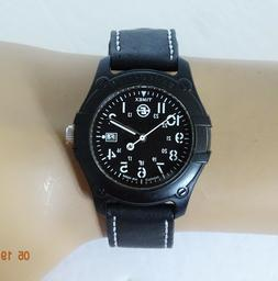 TIMEX EXPEDITION Mens Watch BLACK RESIN White Accents DATE N