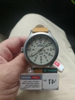 Timex Expedition Scout Tw4b06500wf Mens Field Watch Khaki Le