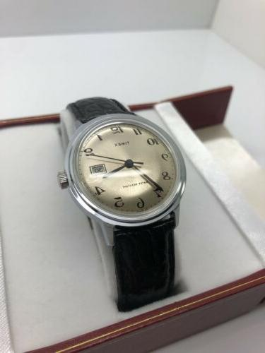 NEW STOCK Timex Manual Silver Day