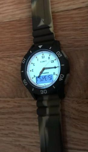 Timex Expedition Military Katmai Snyder 40mm Fossil Silicone