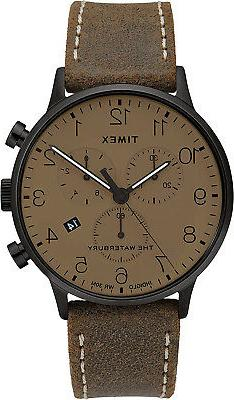 Timex Men's Waterbury Classic Chronograph 40mm Stainless Ste