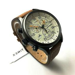 Men's Timex Expedition Field Classic Chronograph leather Ban