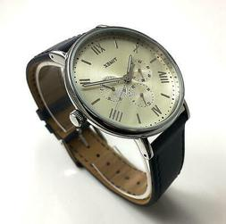 Men's Timex Southview 41 Multifunction Blue Leather Band Wat