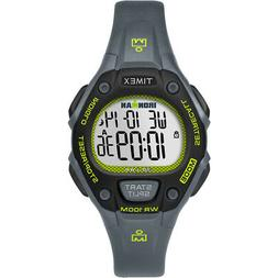 New Timex IRONMAN Classic 30 Mid-Size Watch - Grey/Lime/Blac