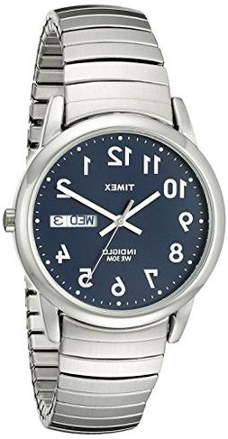 Timex Men's T20031 Easy Reader Silver-Tone Stainless Steel E