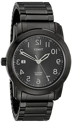 Timex Men's T2P135 Highland Street Gray Stainless Steel Expa