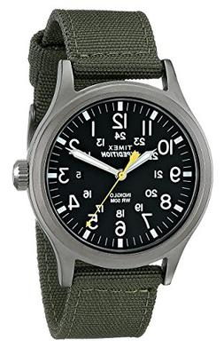 Timex Men's T49961 Expedition Scout Green Nylon Strap Watch