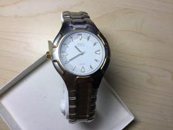 Timex Quartz  Men,s watch with Stainless Steel Band and Two