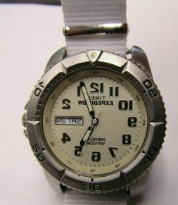 VERY nice mens timex sport expedition wrist watch works good
